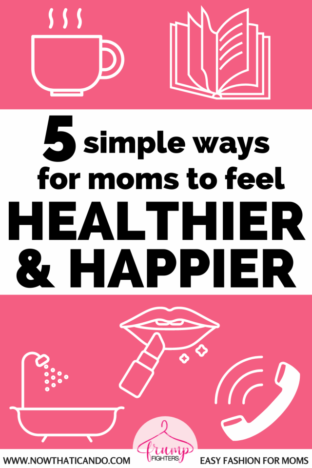 As moms self care can impact not only your life but the life of your family and friends. This mom shares 5 easy and simple ideas for how you can show yourself some extra care.