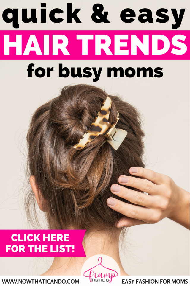 Here are 10+ ideas on how you can update your hairstyle either with a new cut or color or just some fresh styling ideas or accessories! #hair #hairstyle #fashion #momlife #ideas