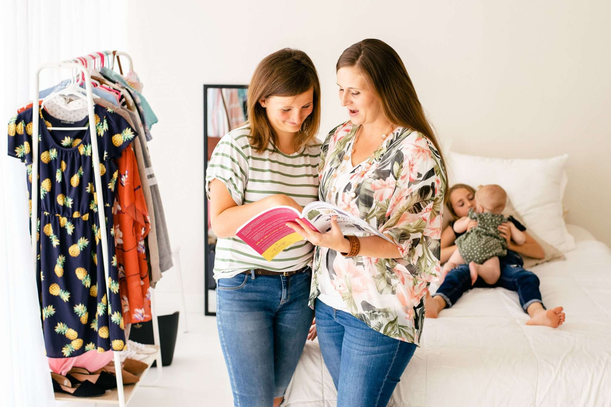 Style guide for girls and families, back to school style easy outfits