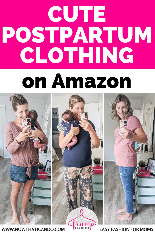 The Best Postpartum Clothes on Amazon