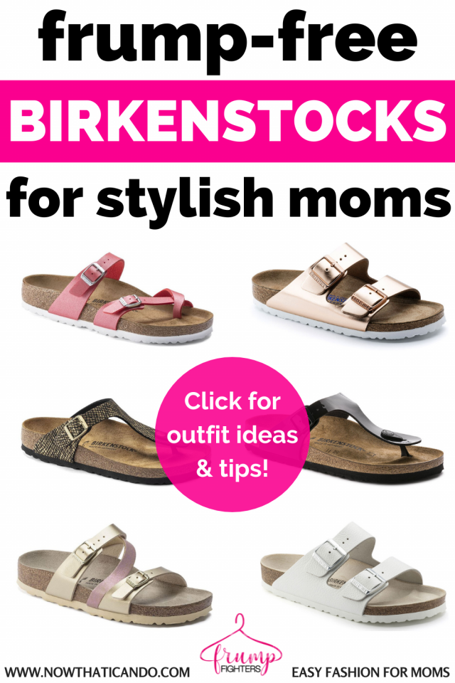If you are wondering what the most stylish birkenstock styles are look no further. Here are the cutest birks and outfit ideas to wear with them! #style #momstyle #summer #sandals #birkenstocks #tips #fashion